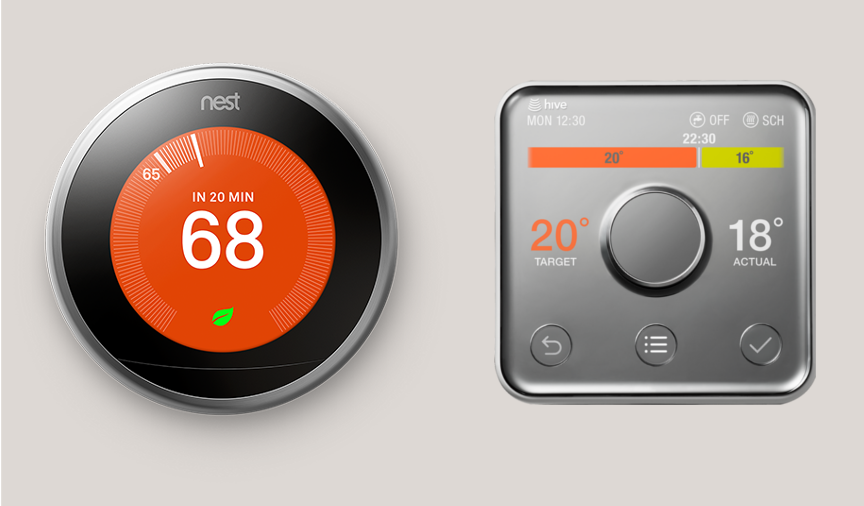Smart Thermostats Review Nest Vs Hive Hometree